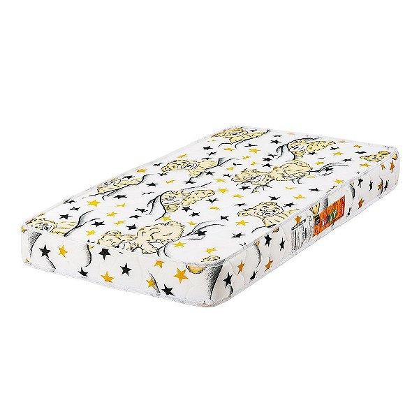 Colchão para Berço Baby Slim D18 - 60x130x12 - Comfort Prime - Branco