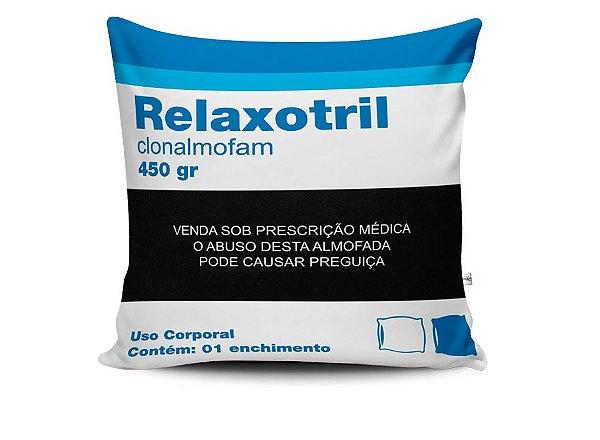 Capa para almofada relaxotril