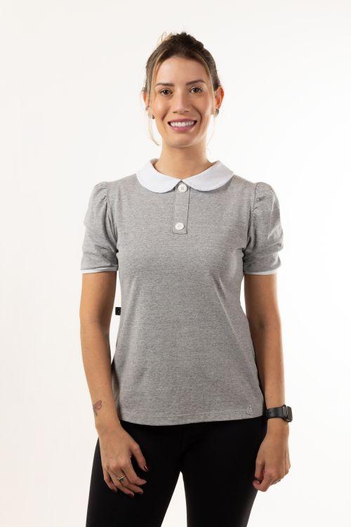 T-shirt Gola Botões