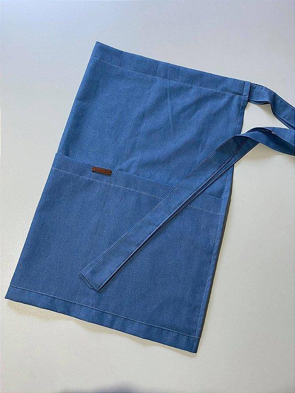 Avental 3 bolsos (Jeans)