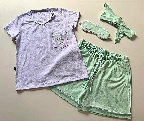 Pijama Curto Infantil Unissex