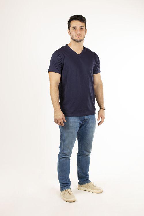 T-shirt Básica Gola V
