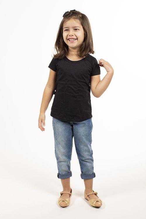 T-shirt Básica Infantil Feminina