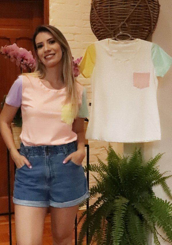 T-shirt  Colorida