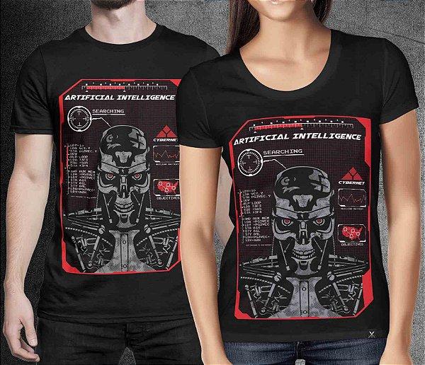 Camiseta Printfull Artificial Intelligence