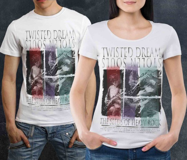 Camiseta Printfull Twisted Dream
