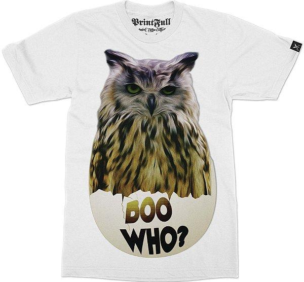 Camiseta Printfull Boo Who