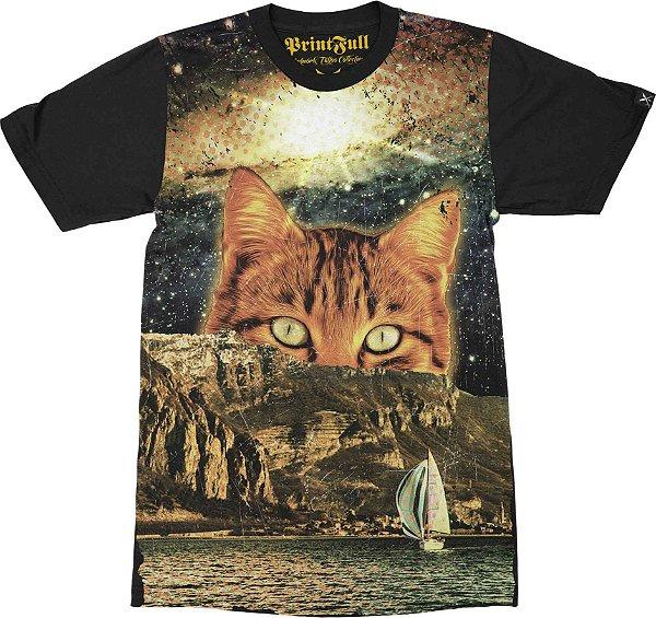 Camiseta Printfull Catastic Trip