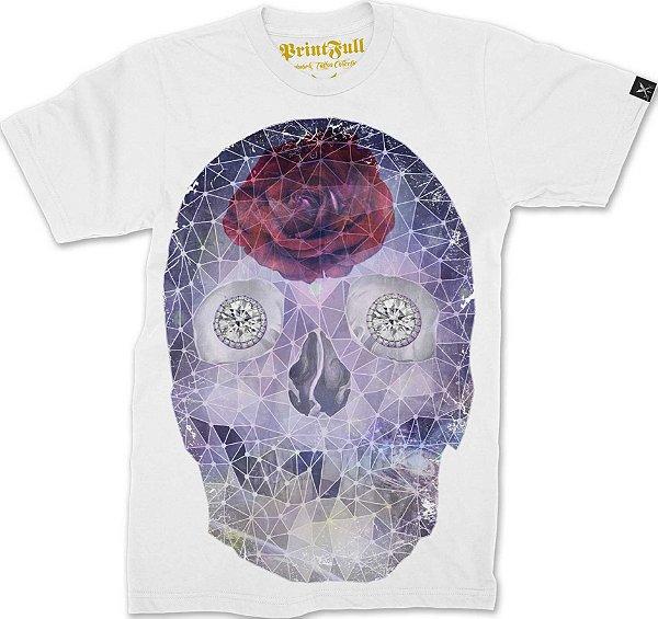 Camiseta Printfull Crystal Skull