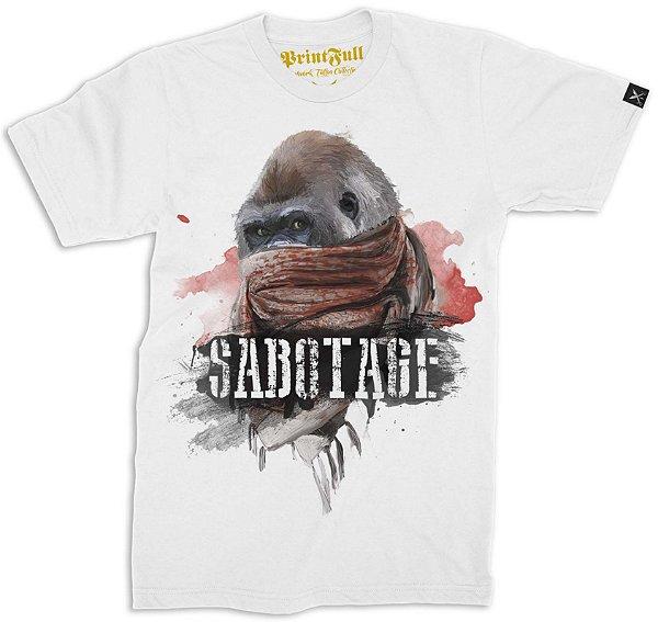 Camiseta Printfull Sabotage