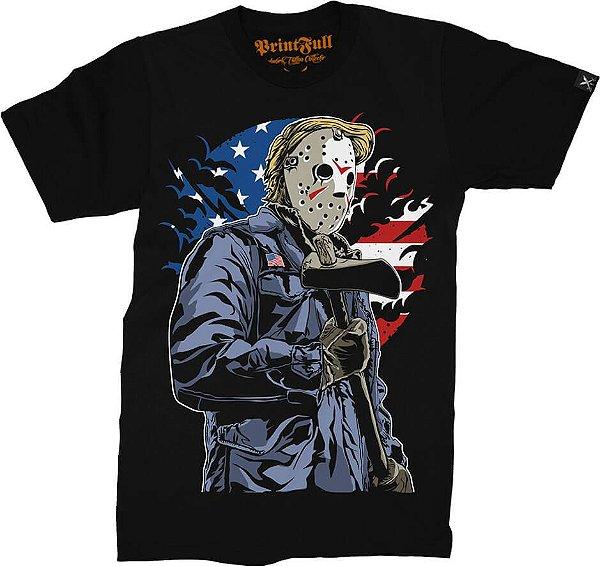 Camiseta Printfull American Killer