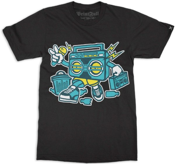 Camiseta Printfull Boombox