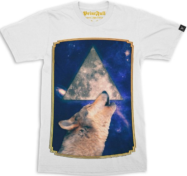 Camiseta Printfull Howling