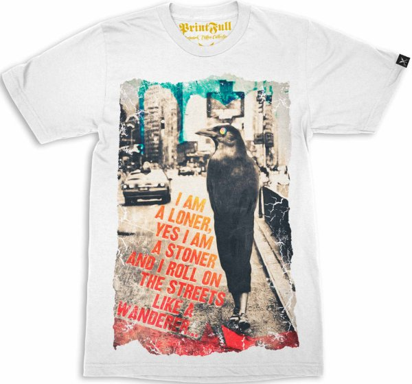 Camiseta Printfull I Am a Loner