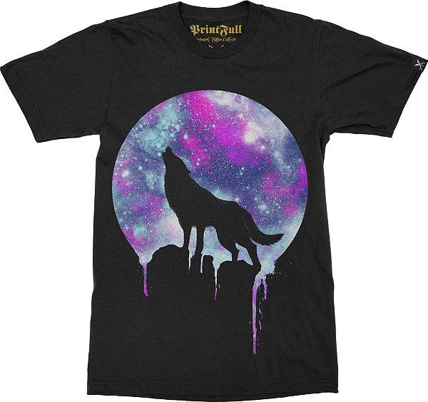 Camiseta Printfull Space Howl
