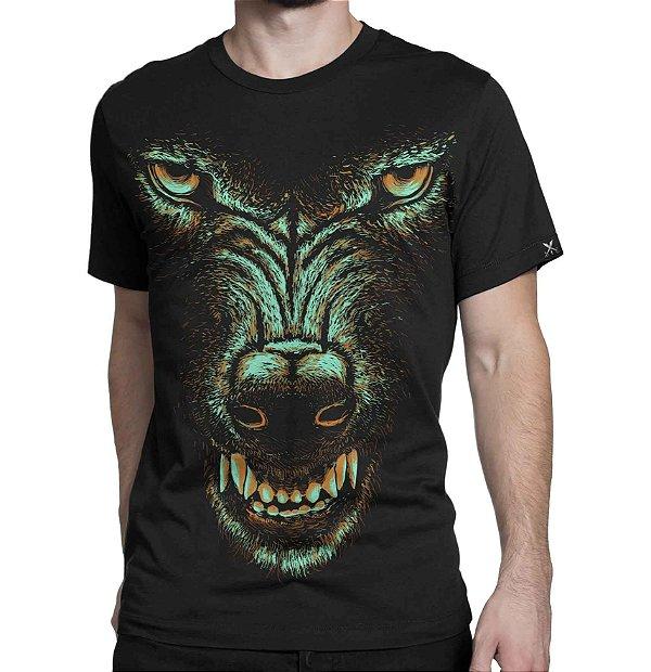 Camiseta Printfull Gray Wolf