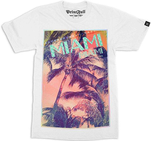 Camiseta Printfull Miami