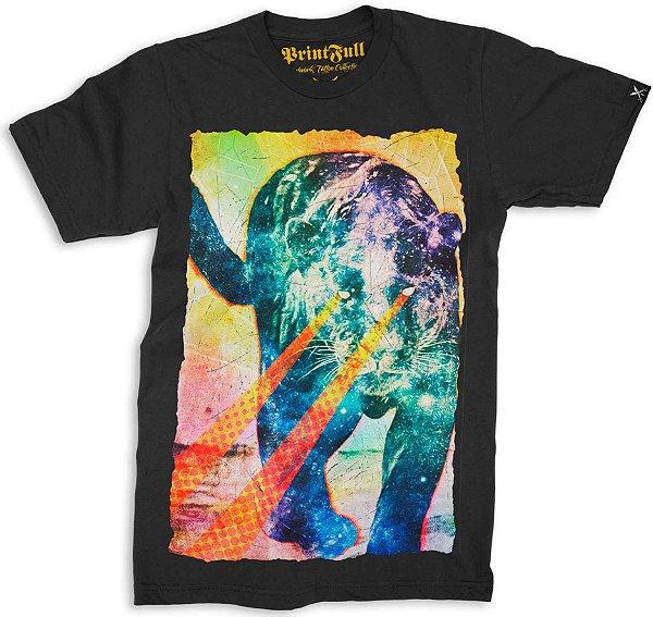 Camiseta Printfull Psycat