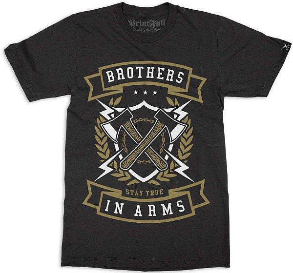 Camiseta Printfull Brother In Arms