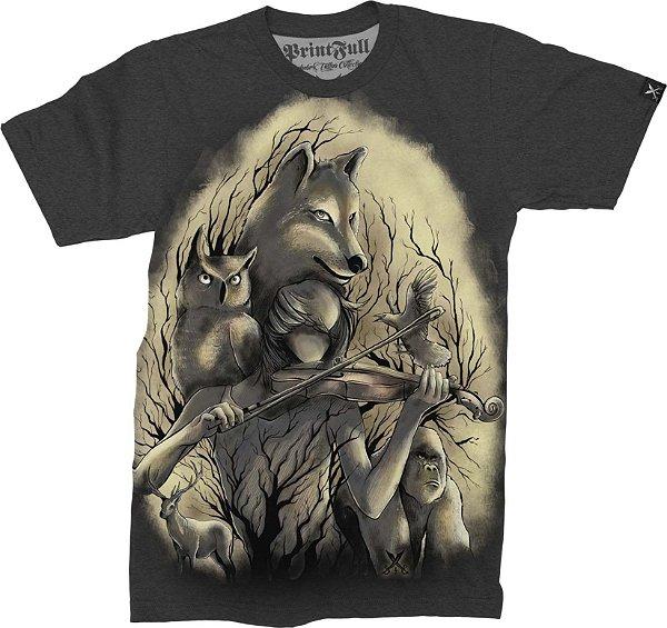 Camiseta Printfull Midnight Music