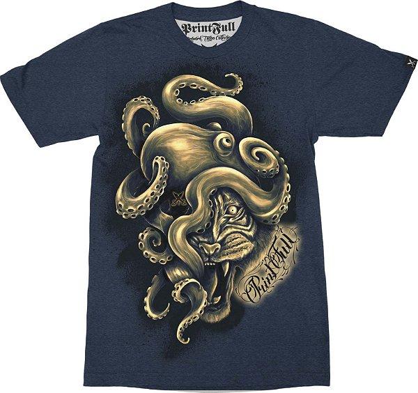 Camiseta Printfull Octotiger