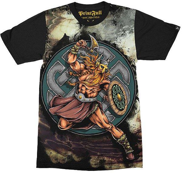 Camiseta Printfull Fearless Warrior
