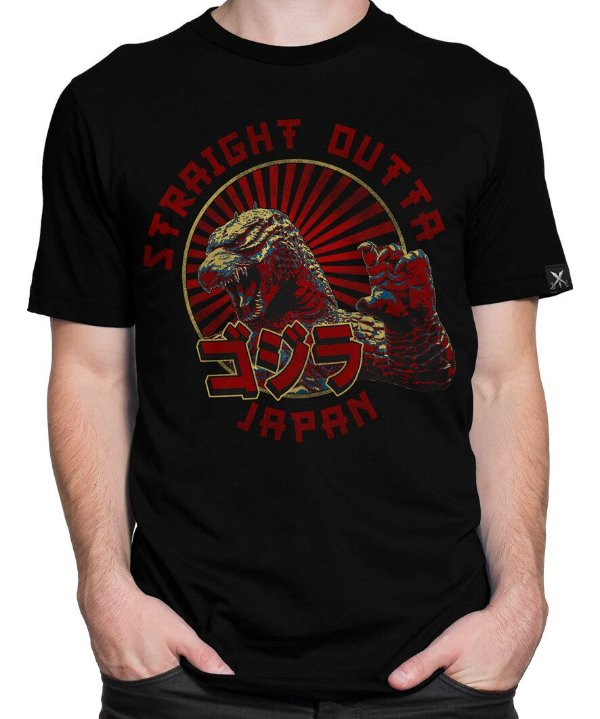 Camiseta Printfull Straight out of Japan