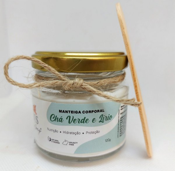 Manteiga Corporal Chá Verde e Lírio 100g