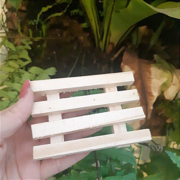 Micro pallet de madeira