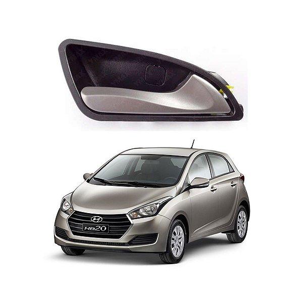Maçaneta Interna Dianteira / Traseira Hyundai Hb20 L Direito