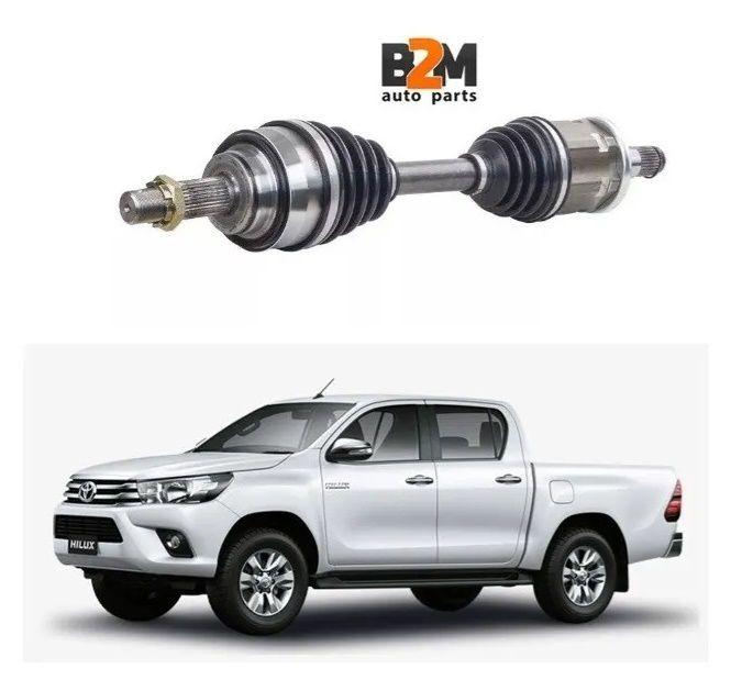 Semieixo Toyota Hilux 2.8 4x4 16/.. Lado Direito/esquerdo