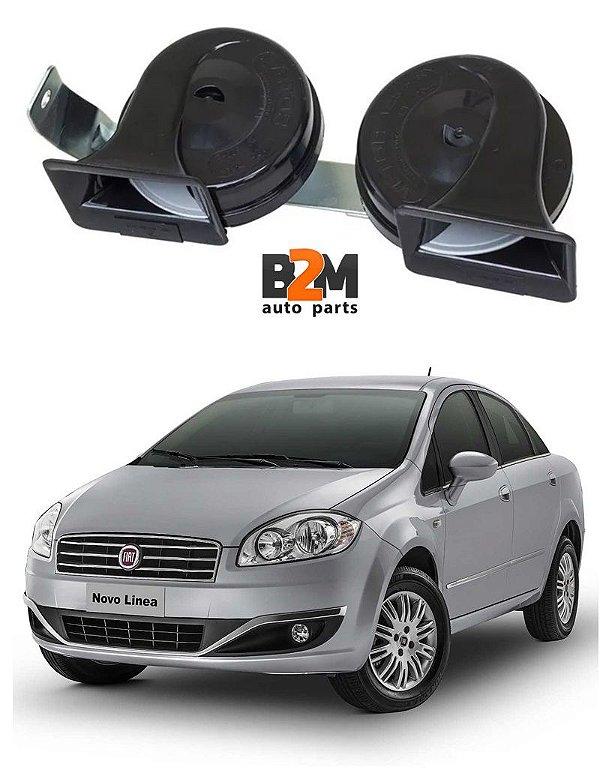 Buzina Caracol Fiat Linea 2012 Em Diante Conector Original