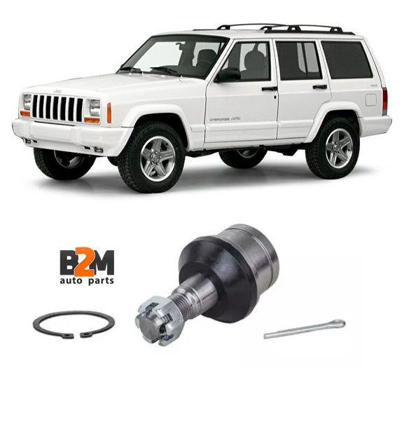 Pivo Inferior Suspensao Jeep Cherokee 2.0 3.7 4.0 5.9 Wrangl // Troller T4 Tdi 99/00 18,4mm