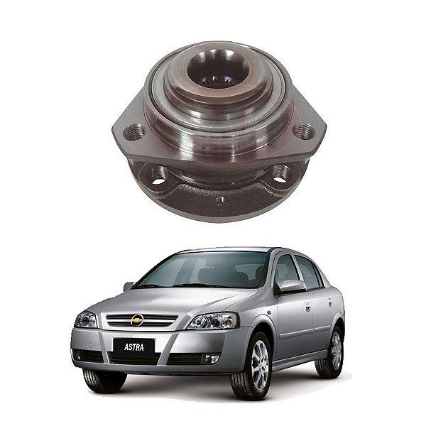 Cubo Roda Dianteira Astra Vectra Gt Zafira 4 Furos S/abs
