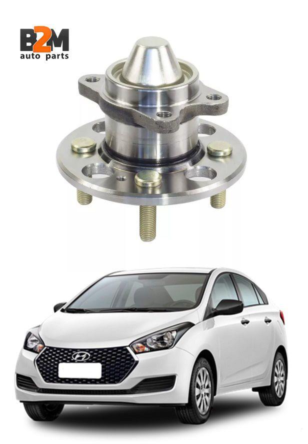 Cubo Roda Traseira Hyundai Hb20 S/abs 527501g000