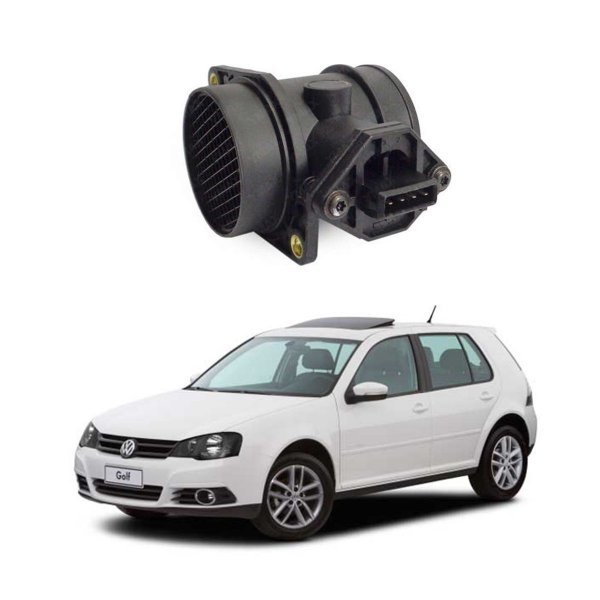Sensor Fluxo Ar Audi A3 A4 A6 1.8 Turbo / Vw Bora Golf Passat /Fiat Marea Weekend 2.0 20v / Alfa 145 155 Spider