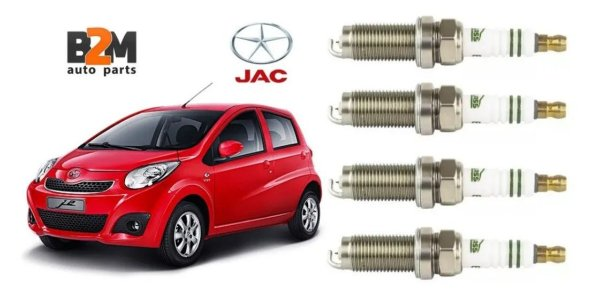 Jogo Vela Ignicao Iridium Jac Motors J2 J3 J5