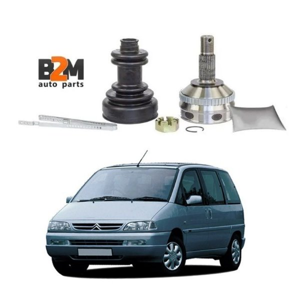 Junta Homocinetica Citroen Evasion 2.0 / Peugeot 806 2.0 Turbo 94/99 - 39x27 Dentes