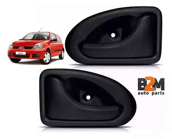 Par Maçaneta Diant Interna Porta Renault Clio Symbol Master