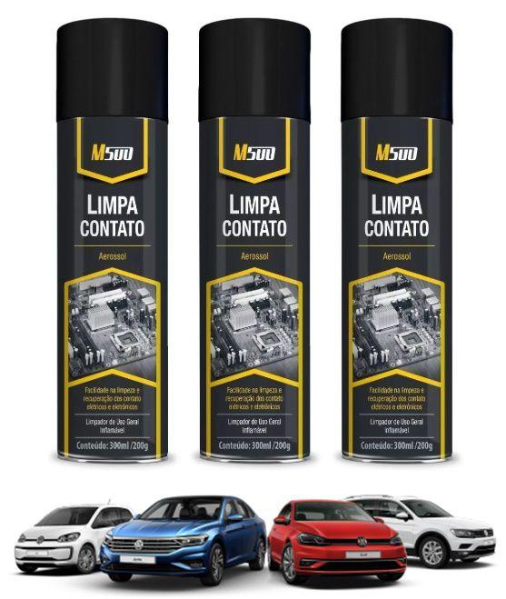 Kit 6 Limpa Contato Spray Neutro 300ml 200g M500