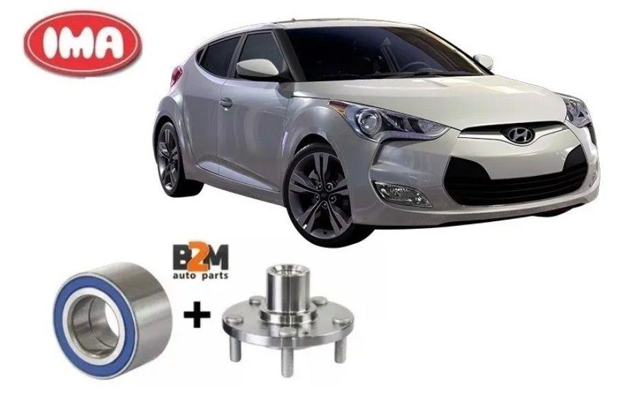 Cubo Roda Dianteira + Rolamento Hyundai Veloster Elantra 12/