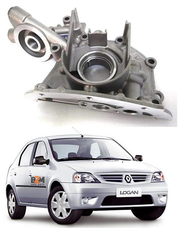 Bomba De Oleo Renault Logan Sandero Clio Kangoo Twingo // Peugeot 206 1.0 16v 2000// Nissan March 1.0 16v 2011 A 2015 - 8200251904