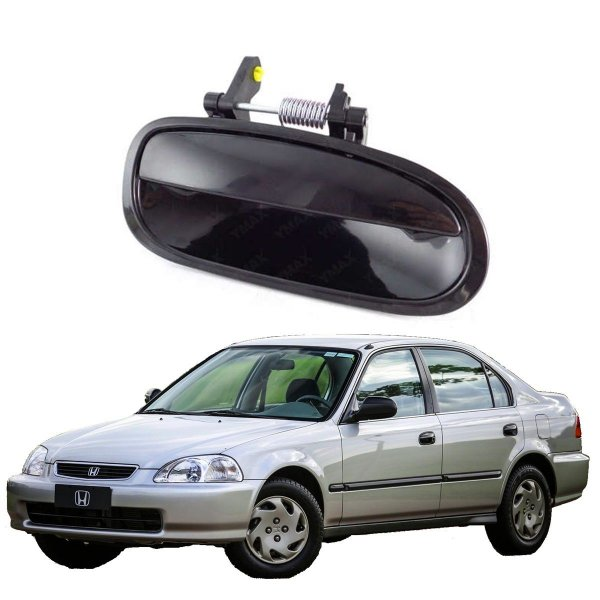 Maçaneta Externa Porta Traseira Direita Honda Civic 96/00