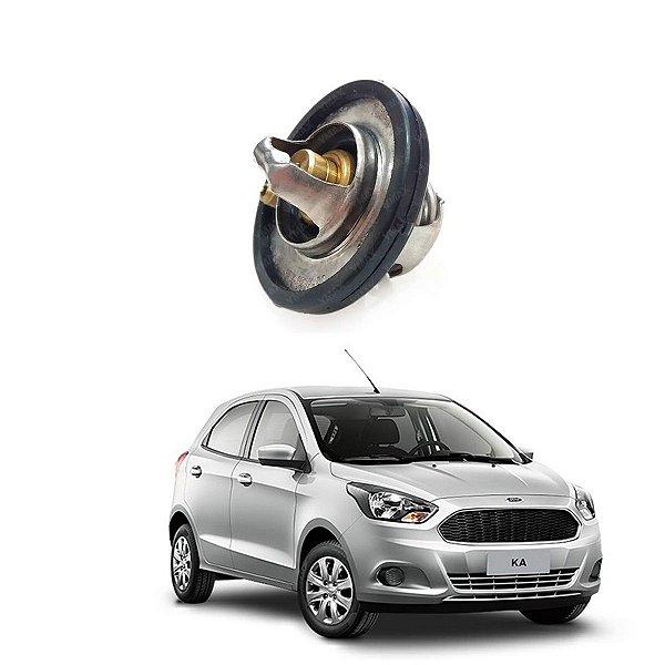 Válvula Termostática Ford Ka Fiesta 1.5 2014/..  F3b58575aa