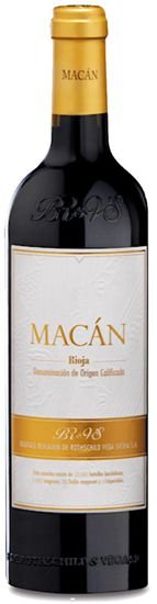 Macán Rioja 2016 (Vega Sicilia & Rothschild)  RP-94 Pts