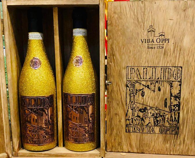 Cx de Madeira C/02 grfs - Amarone DOCG Villa Oppi Pallido Golden 2014