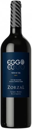 Zorzal Eggo Tinto de Tiza 2013 RP - 95 Pts.
