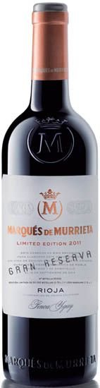 Marqués de Murrieta Gran Reserva Limited Edition 2011 RP - 94Pts