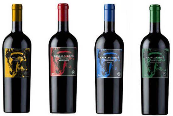 KIT Caballo Loco Grand Premiados - 4 garrafas