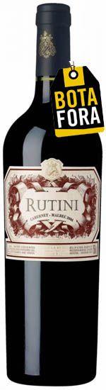 Rutini Cabernet-Malbec 2016  DS-93Pts